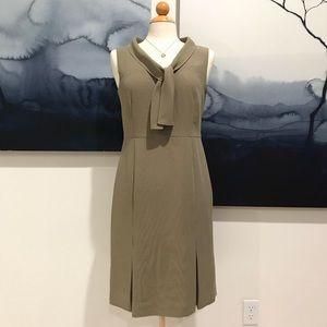 ANN TAYLOR - LOFT | Checkered midi formal dress